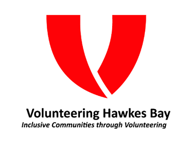 Volunteering Hawkes Bay Logo